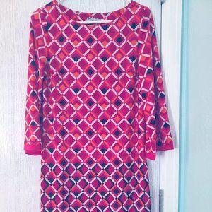 Eliza J long-sleeved sheath dress